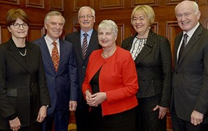Six current Judges as of August 2016